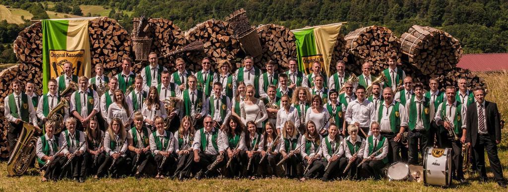 Das Stammorchester der Original Kasseler Musikanten