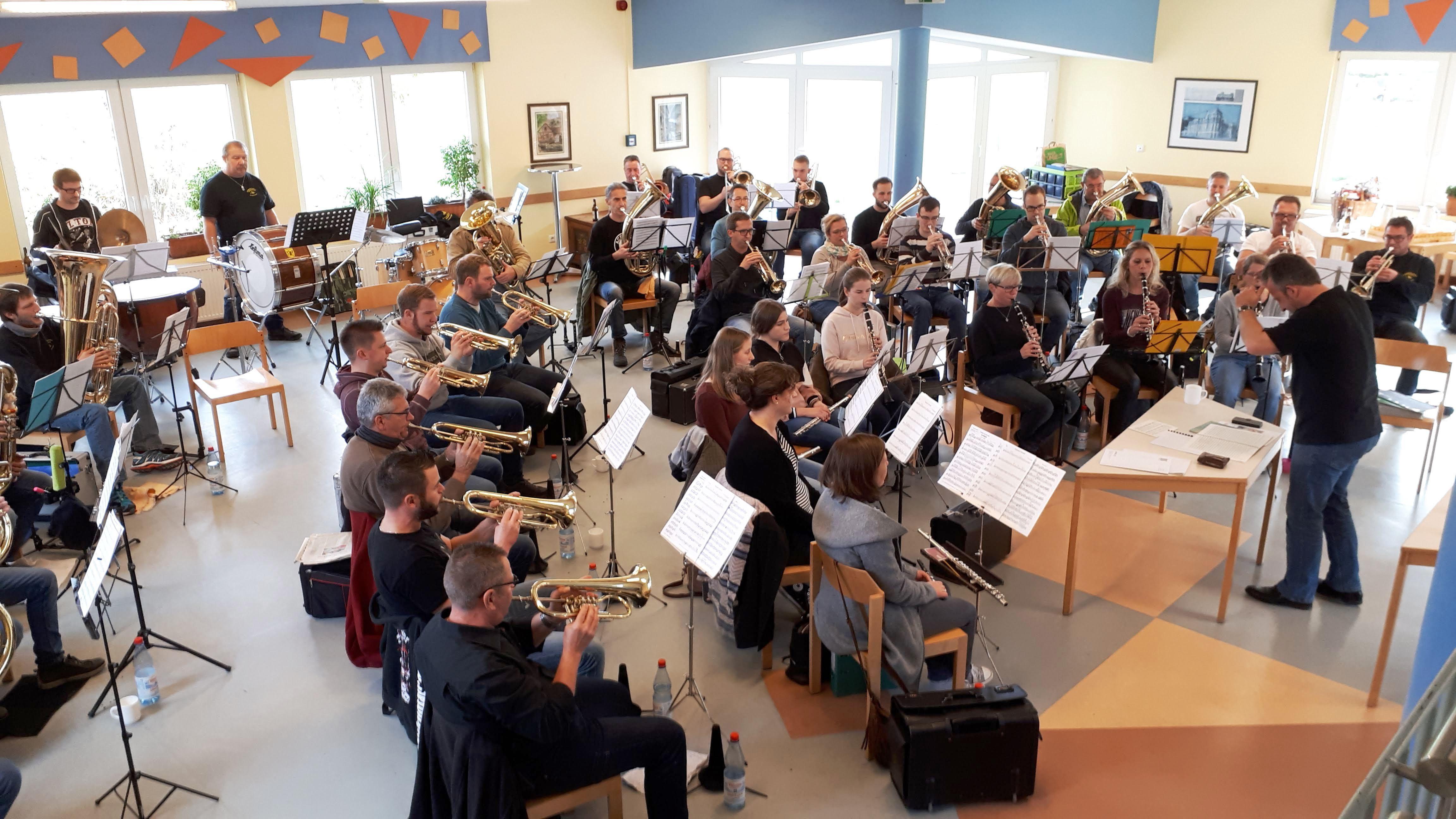 Konzertvorbereitungen Der Okm In Vollem Gange Original Kasseler